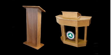 All our Wood Lecterns are well crafted in a variety of real wood and veneer finishes