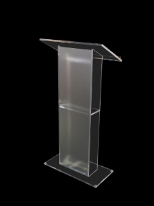 Abacus Lectern Frost