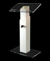 Pearl Height Adjustable Lectern