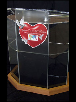 Lectern Front Panel Examples